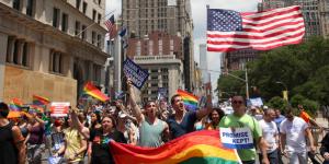 En Estados Unidos, 2.3% son gays, lesbianas o bisexuales