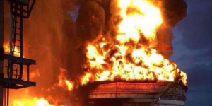 Sofocan incendio en refinería de Tamaulipas