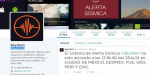 Se activa alerta sísmica en app no oficial