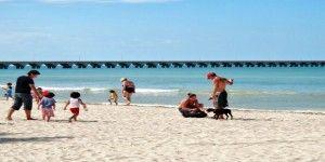 Playas de Yucatán, libres de marea roja