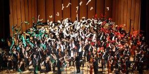 Exitoso concierto de Orquesta Infantil y Juvenil de México