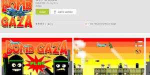 Google Play retira juego que simula ataques a Gaza