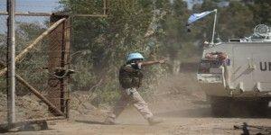 Fuerzas de paz de la ONU sufre ataque de rebeldes sirios