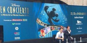 Música de Disney llenará el Auditorio Nacional