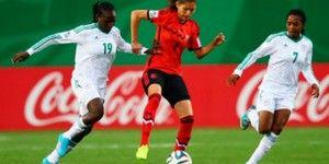 Empata selección femenil Sub-20 con Nigeria