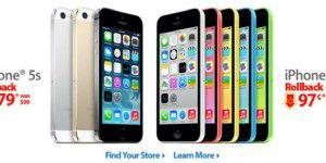 Rematan iPhones hasta en 97 centavos en EE.UU.