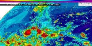 CONAGUA informa de la formación de la tormenta tropical Karina
