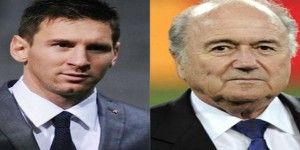 Messi y Blatter dan último adiós a Grondona
