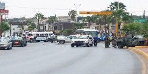 Al menos ochos muertos en persecución y balacera en Monclova