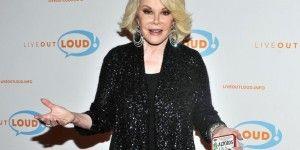 Joan Rivers cumple tres días hospitalizada
