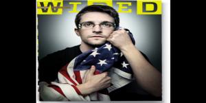La polémica imagen de Snowden en la revista Wired