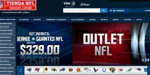 NFL relanza tienda online en México