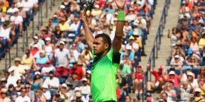 Tsonga vence a Federer en final de Masters de Toronto