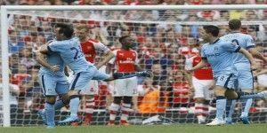 Empate entre Arsenal y Manchester City