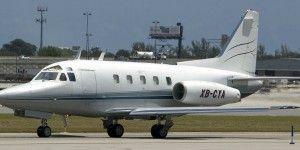 Avión privado despista en Toluca