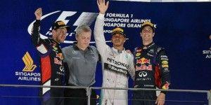 Hamilton gana Gran Premio de Singapur