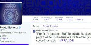 Policía Española se arma… con Twitter
