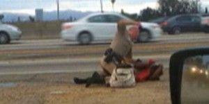 Recibirá 1.5 mdd mujer golpeada por policía de California