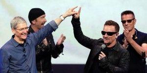 Apple ayuda a remover el álbum de U2 de iTunes