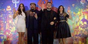 """Guillermo del Toro asiste a la premier de """"El libro de la vida"""""""