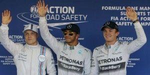 Hamilton gana la pole en Rusia