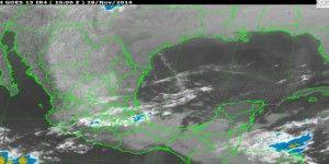 El frente frío 15 causará lluvias y bajas temperaturas en algunas partes del país