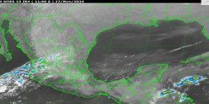 Continúan las lluvias en el sureste de México por frente frío 14