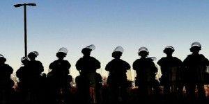 La Guardia Nacional impide más daños en Ferguson
