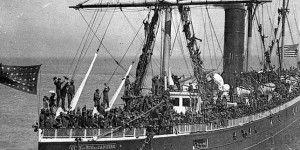 "Descubren restos del ""Titanic de San Francisco"" hundido en 1901"