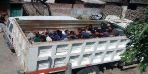 Aseguran camión con 54 indocumentados en el Istmo