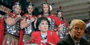 """Que no sea """"metiche, la güera"""" Trump: Carmen Salinas"""