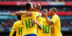 Brasil venció a Chile en amistoso