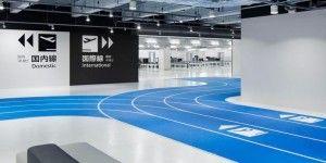 Construyen pista de carreras en aeropuerto