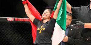 Peleadora mexicana firma con UFC