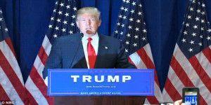 Donald Trump anuncia su candidatura a la Presidencia