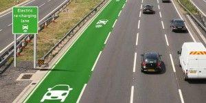 Inician pruebas de caminos que recargan autos eléctricos