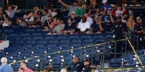 Muere fanático durante juego de béisbol