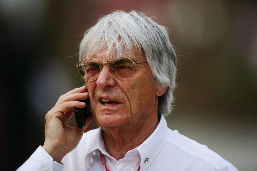 Bernie Ecclestone, jefe comercial de la F1. Foto de sueddeutsche.com