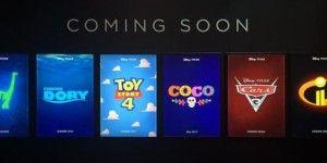 Oficializan fechas de estrenos de Pixar