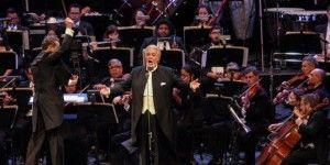 Plácido Domingo festeja 55 años de su debut en México