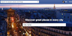 Los lugares más populares en Facebook en 2015