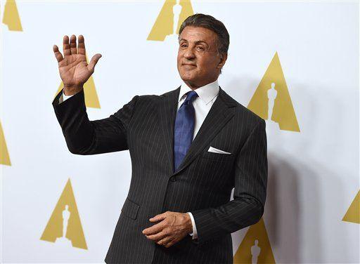 Sylvester Stallone. Foto de AP
