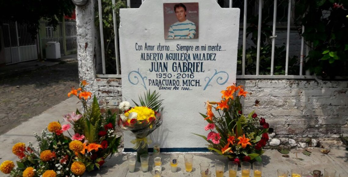 Violencia no afectó actividades en honor a Juan Gabriel en Parácuaro - Foto de Quadratín.