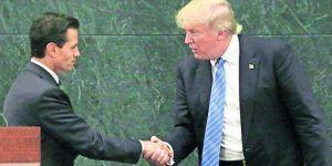 Publican cartas de invitación de EPN a Trump y Clinton