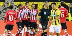 PSV gana de visitante con asistencia de Guardado