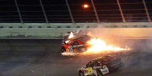 Video: piloto de NASCAR sufre aparatoso accidente
