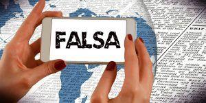 Buscador informa si una noticia es falsa