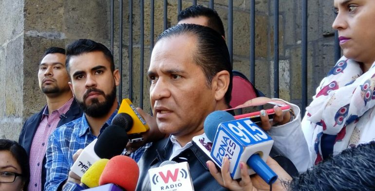 Eduardo Almaguer, fiscal de Jalisco. Foto de Quadratín.