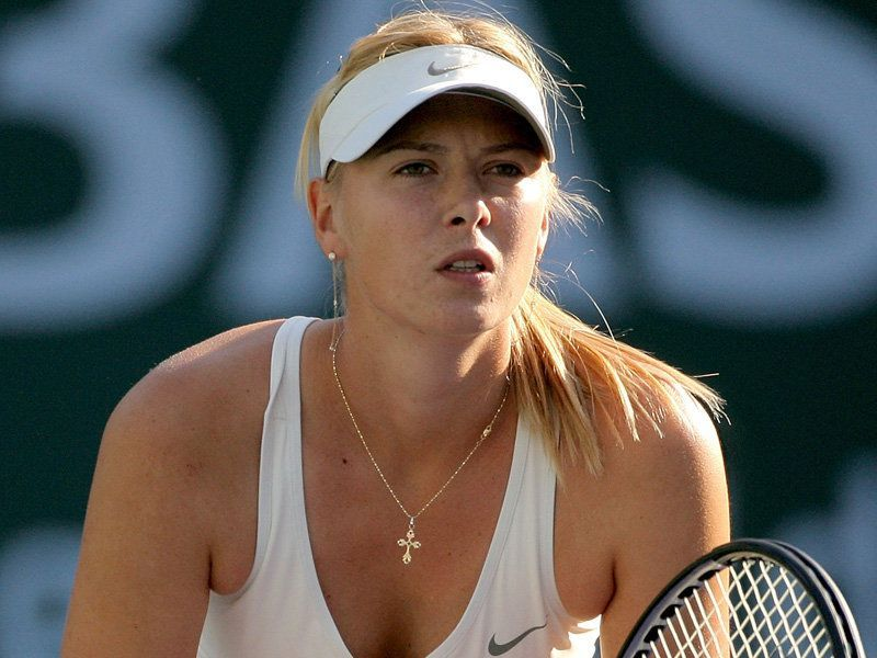 Maria Sharapova. Foto de raredelights.com