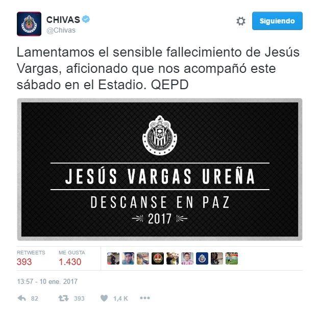 chivas tuit